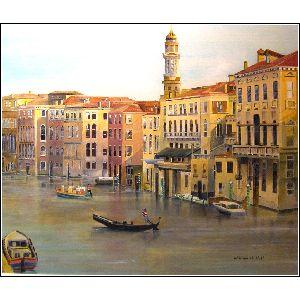 Vinice - a painting completed in the beautiful hues of the 1900's